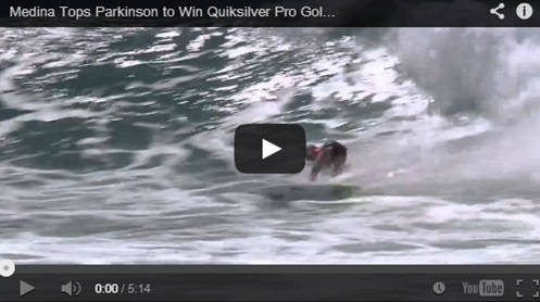 gabriel medina - video final gold coast 2014